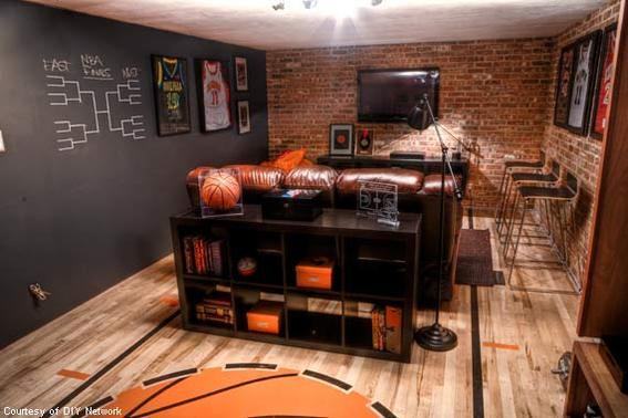 The NBA Basketball Cave