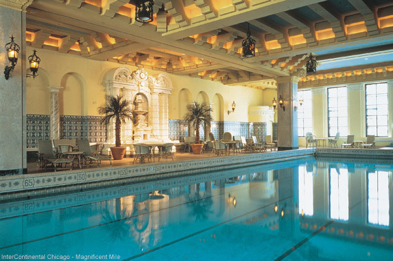 InterContinental Chicago Indoor Swimming Pool