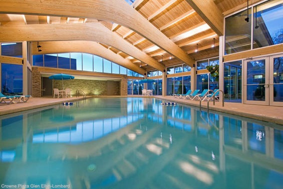 Crowne Plaza Lombard Downers Grove Indoor Swimming Pool
