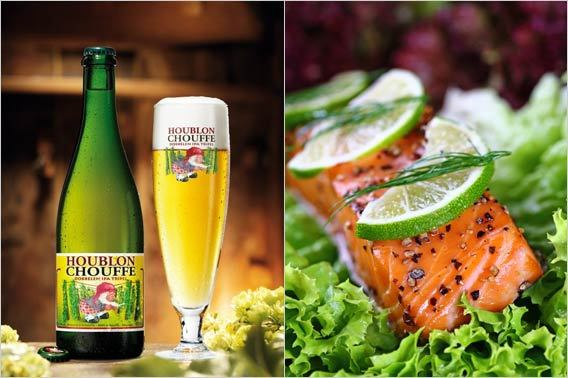 Holiday Beer Pairings:  La Chouffe Houblon