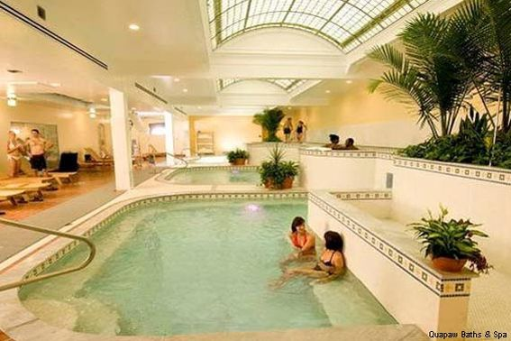 Quapaw Baths in Hot Springs National Park